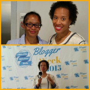 Xina Eiland and Ananda at Blogger Week Unconference, May 2015