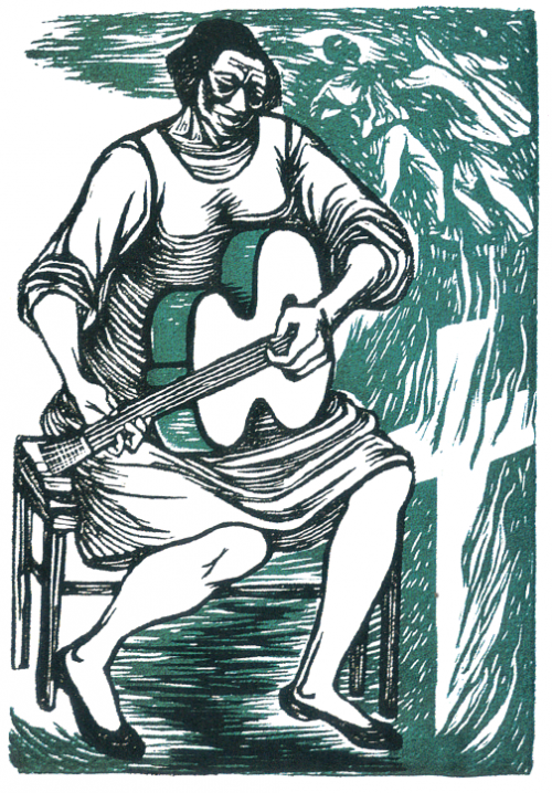 Great Moments from the Weekend: Ananda's Artist Date @ Elizabeth Catlett in Mexico exhibit and its connection to her books That Which Awakens Me & Love's Troubadours (3/3)