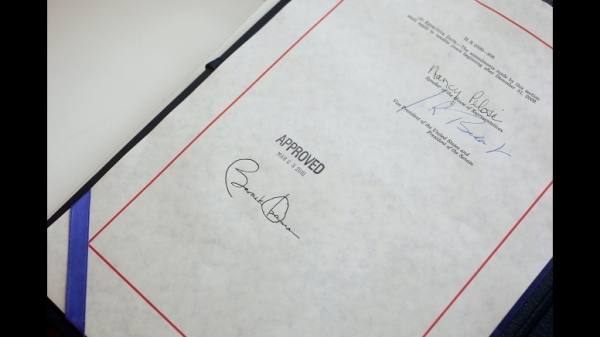 President Obama's signature on 2010 healthcare legislation - Photo Credit: Whitehouse.gov