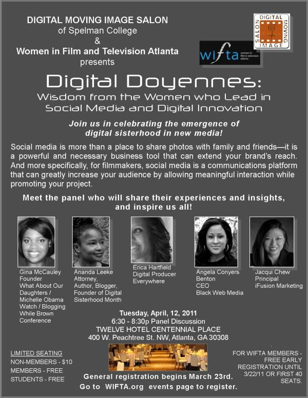 Digital Doyennes eblast_wifta members