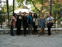 Digital Sisterhood Heart of Haiti Tripsters at the Hotel Oleffson in Port-au-Prince, Haiti