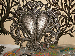 Ananda's #HeartofHaiti Post: Croix-des-Bouquets Metal Artisans & Their Connection to Ogoun, Haitian god of metalwork (videos included) (5/6)