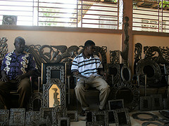 Ananda's #HeartofHaiti Post: Croix-des-Bouquets Metal Artisans & Their Connection to Ogoun, Haitian god of metalwork (videos included) (3/6)