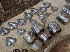 Heart of Haiti metal jewelry created by Croix-des-Bouquets metal artisans
