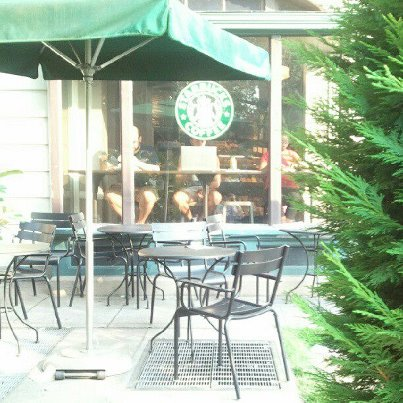 Ananda's writing office -- various Starbucks in DC, Maryland, and Virginia --- Photo Credit: Kim Shults