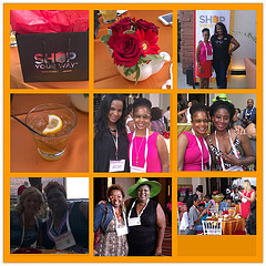 Blogalicious 2012 Shop Your Way Fashionista Tea on Day 1