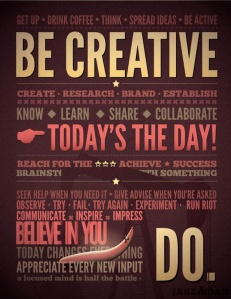 A fabulous creative manifesto of sorts