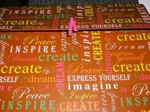 Ananda's Creativity Folder