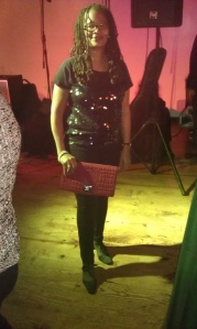 "Ananda at ""To Sir with Love"" Inauguration Ball for Creatives in DC"