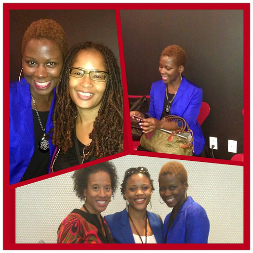 Elayne Fluker, Xina Eiland, and Ananda at FOCUS100