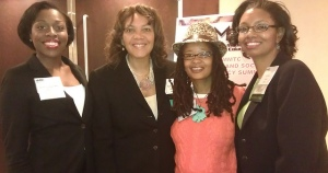 Me with Maurita Coley (middle) and Joycelyn James (R) of MMTC