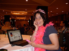 Aliza Sherman at BlogHer 2010