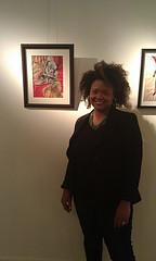 Kesha Bruce at Morton Fine Art in DC