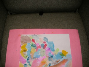 Wounded warrior's water color painting