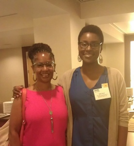 Ananda Leeke and Issa Rae at  2012 Minority Media & Telecom Council's 10th Annual Access to Capital and Telecommunications Policy Conference