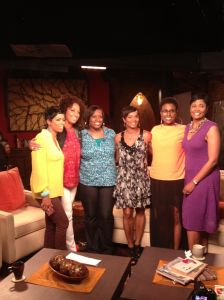 Photo Credit: www.aspire.tv/exhale Photo features Exhale hosts and actress Vanessa Bell Calloway