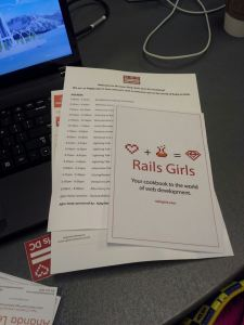 Rails Girls DC June 13th Workshop Agenda and Materials