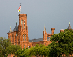 Photo Credit: The Smithsonian Castle,  www.si.edu/About