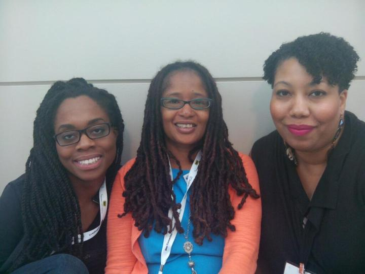 Photo Credit: Eva Scott  Hanging with Patia Braithwaite & Rae Mathis