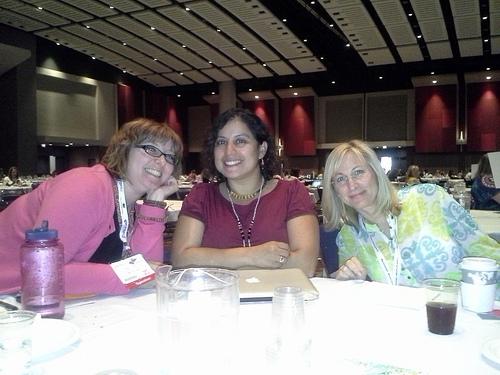 Jenni Prokopy, Veronica Arreola, and Jill Miller Zimon