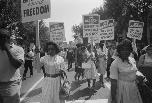 Photo Credit: Everett - http://fineartamerica.com/products/civil-rights-march-on-washington-dc-everett-poster.html