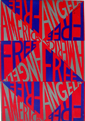 Free Angela America by Faith Ringgold - Photo Credit: FaithRinggold.com