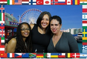 Ananda, Dwana, and Pauline -- Photo Credit: BlogHer