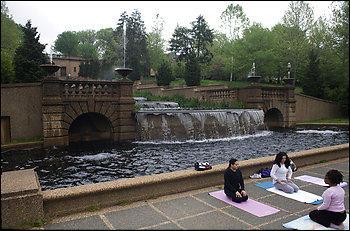 Yoga Meetup Class in 2008