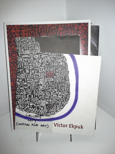 Victor Ekpuk's artwork
