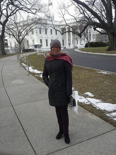 Ananda at the #SOTUSocial White House Tour