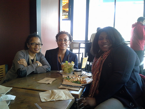 Photo Credit: Yours truly - Impromptu lunch with #WHSocial BFFs