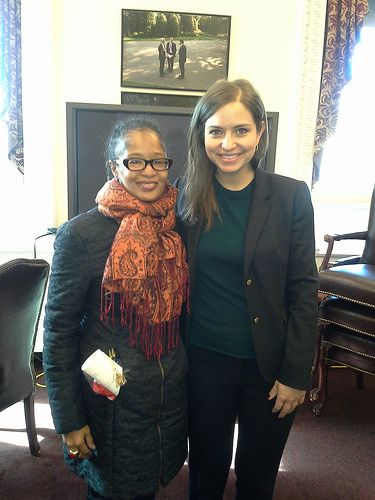 Photo Credit: Me and Kori Schulman at #WHSocial briefing at EEOB on 2/11/14
