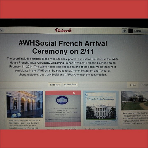 My Pinterest board of #WHSocial resources