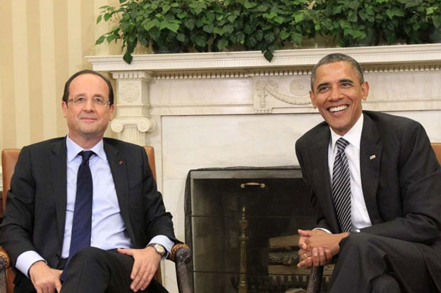 Photo Credit: WhiteHouse.gov - French President Hollande and President Obama