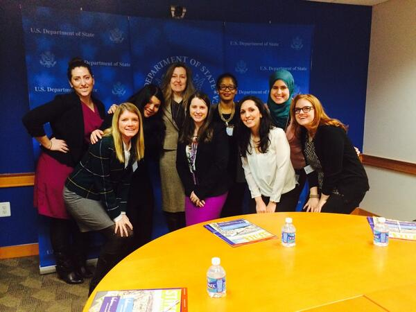#IWOC Women Social Media Leaders met with U.S. Department of State's Global Women's Issues staff