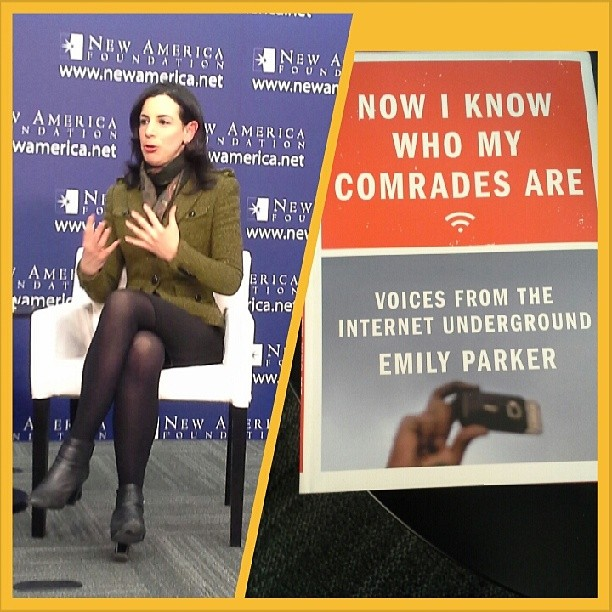 Author Emily Parker at New America Foundation event