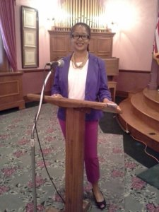 Ananda Leeke at Serve DC Workshop, May 21, 2014