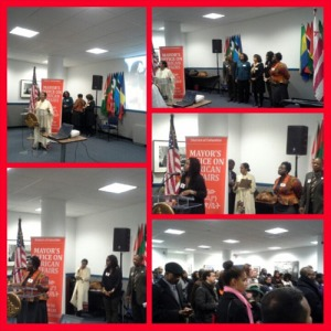 February open house hosted by the Mayor's Office of African Affairs