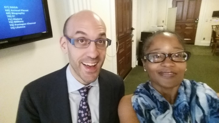 Usie with White House Chief Digital Officer Jason Goldman, May 2015