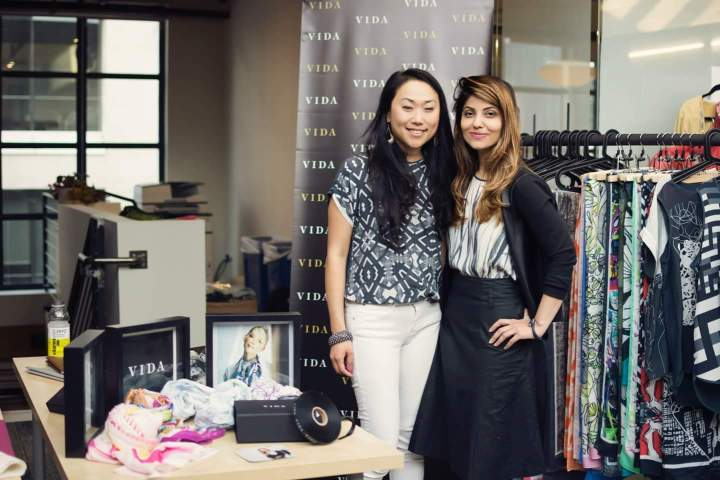 VIDA team member Connie Kim and CEO Umaimah Mendhro,  Photo Credit: ShopVida.com