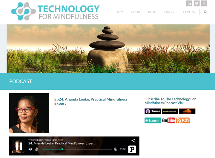 TechnologyforMindfulnessPodcast-AprilInterview